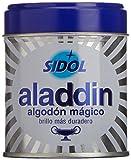Aladdin - Algodón Limpia Metales, Pack de 3 x 75 g