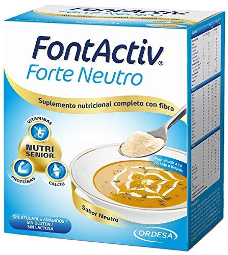Fontactiv Forte Neutro - 10 Sobres de 30gr Suplemento Nutricional para adultos y mayores - 1 a 4 sobres al día.
