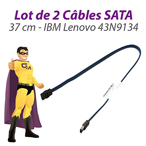 Lenovo 2 Stück Kabel sata IBM FRU 43N9134 Thinkcentre M58 USFF 37cm blau