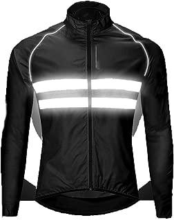 Men's Windbreakers Windproof Waterproof Breathable Light Weight Bike Jacket