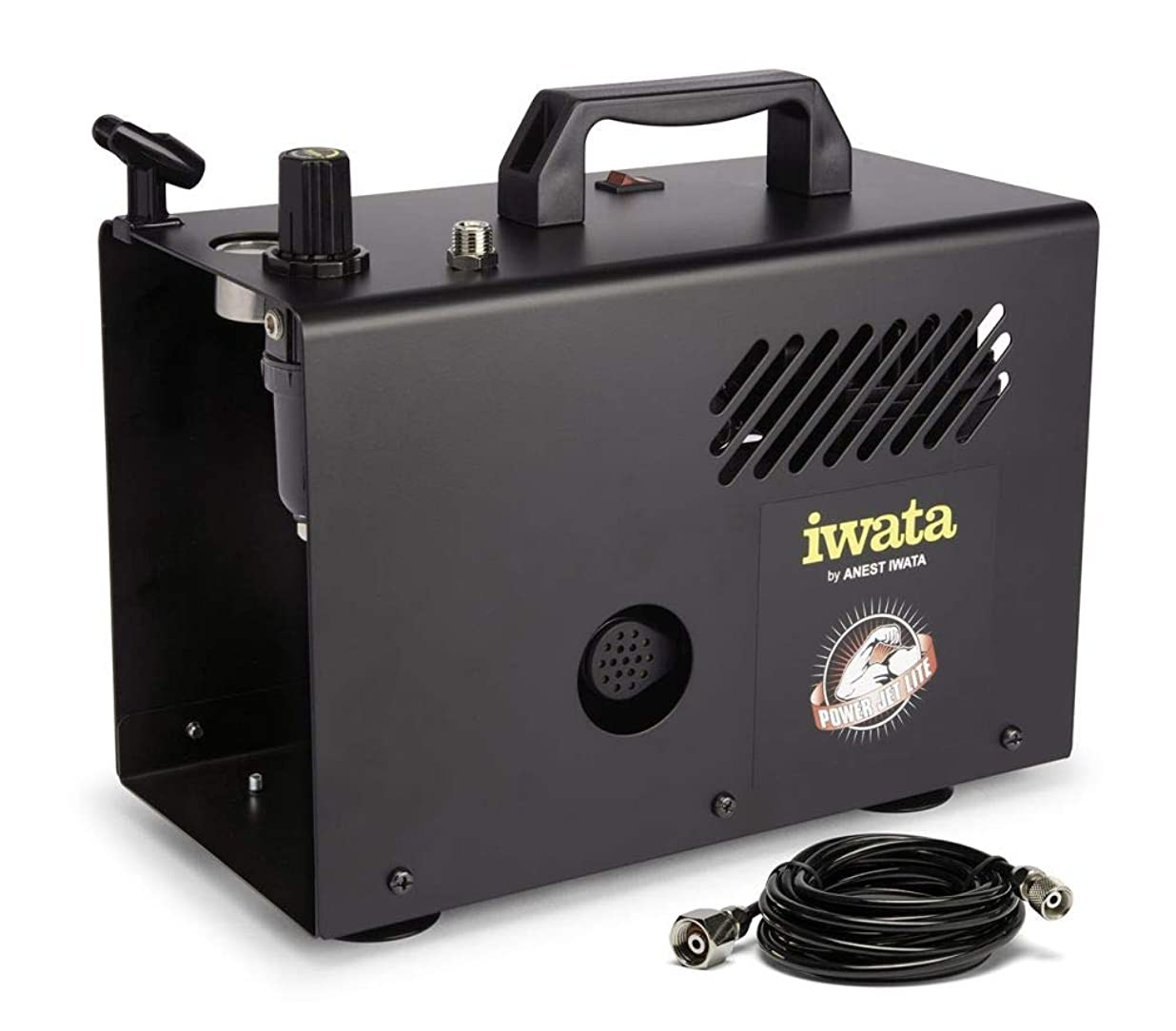 観点会うあえぎIwata-Medea Studio Series Power Jet Lite Double Piston Air Compressor by IWATA-MEDEA Inc [並行輸入品]