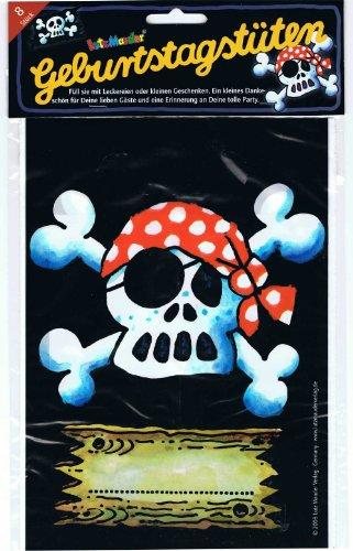 Geburtstagstüten für Piraten