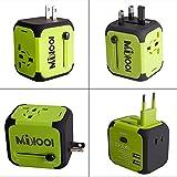 Milool universellen Reise-Adapter mit Doppel USB-Ports aus 150 Ländern weltweit US UK EU AU...