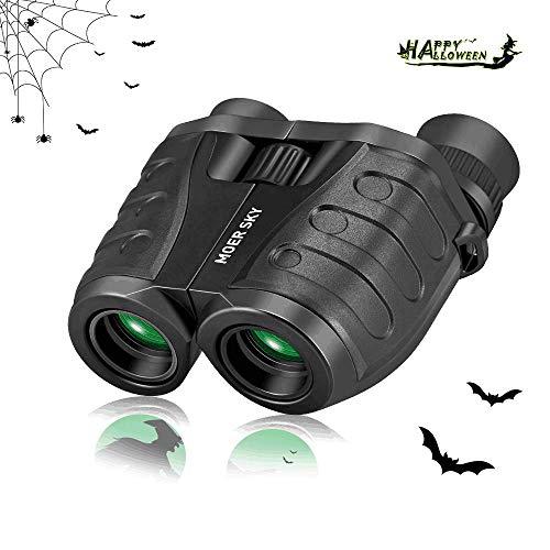 Binoculars for Kids and Adults Beginner, Compact Pocket Folding Lightweight Waterproof HD Professional Mini Binocular Telescope for Theater, Cruise, Sports Games, Hiking, Hunting