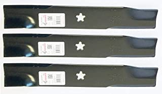 Rotary 3 PK, Made in USA Copperhead Blades for Husqvarna or Dixon 539113425 575296401 (3)