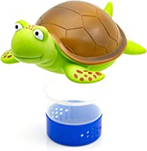 WWD Chlorine Floater, Turtle Floating Pool Chlorine Dispenser Fits 3
