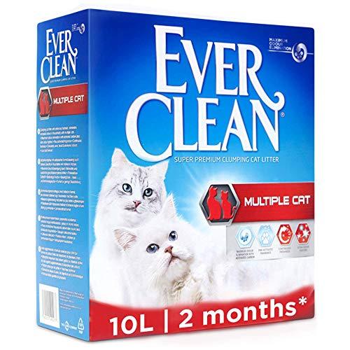 Ever Clean Lettiera Multiple Cat, 10.Litri, Profumata