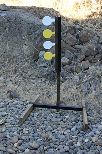 Deschutes Metal Works Rimfire Dueling Tree Target AR500 Four Paddle Set
