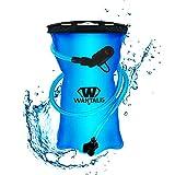 Wantalis PremiumFlask - Bolsa de Agua para hidratación (1,5 L), Color Turquesa
