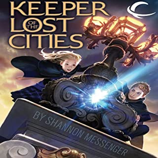 Keeper of the Lost Cities audiobook cover art