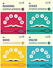 SBB Reasoning, Maths, Science and English Olympiad Workbook Combo - Class 4