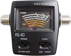 Tenq Rs40 Professional Uv Dual Band Standing-Wave Meter Power Meter SWR Meter for Testing SWR Power
