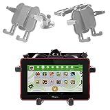 DURAGADGET Support 2 en 1 réglable d'appui tête + Pare-Brise Voiture Ajustable pour FNAC Kids Kurio 7' Tablette Tactile éducative pour Enfants (C14130) Android 4.4