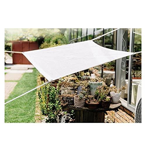 LSSB Cubierta De Malla De Velas De Sombra, Mallas De Sombreo Jardin Temperatura Gota HDPE Bloqueador Solar Solar Sombra Paño para Exterior Patio Plantas Invernadero Sala De Sol, Personalizable