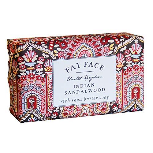 Fat Face, Indian Sandalwood, Rich Shea Butter Soap, 200g