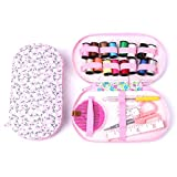 LXHY Outils de Tricot Boîte de kit de Couture de Voyage Portable Boîte à Aiguilles Scissor Home...