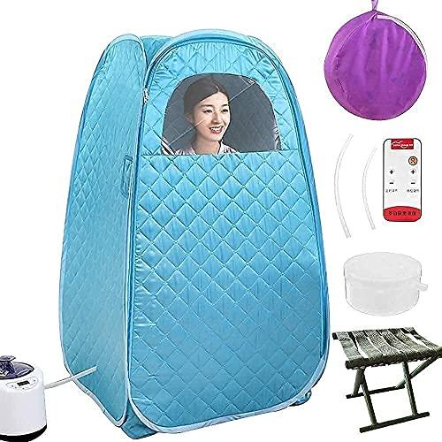 AY Portable Steam Sauna Spa, Foldable 2.6L Thicken Personal Therapeutic...