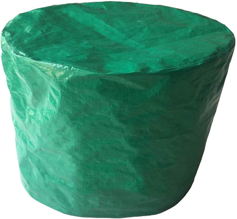 YAGEER zhangpeng Grüne Gartenmöbelabdeckung rund staubdicht wasserdicht Schutzabdeckung PE Frostschutzmittel, Frostschutzmittel, Frostschutzmittel, Größe 3 B07KKJPZKG  Exportieren 7fd379