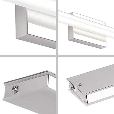Ralbay 40in Modern Vanity Lights LED Bathroom Vanity Lighting Fixtures Over Mirror Long Bathroom Vanity Lights(White Light)