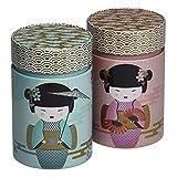 Eigenart 2er Set Dosen New Little Geisha (für ca. 150g)