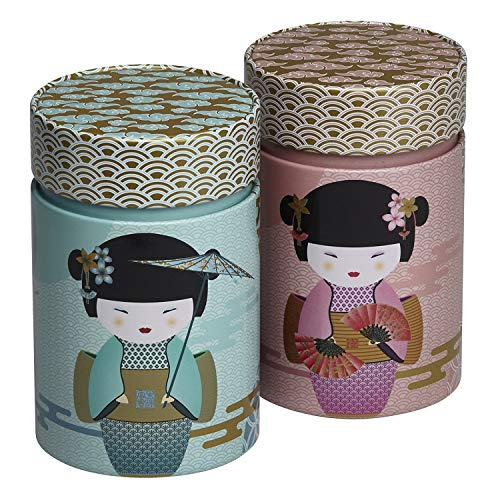 Eigenart 2er Set Dosen New Little Geisha (für ca. 150g)