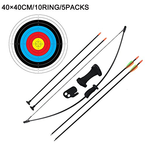 Outdoor Youth Recurve Bow and Arrow Set Children Junior...