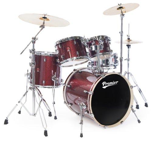 Premier 6295WRL Olympic Rock Schlagzeug, 22 Zoll, Rot