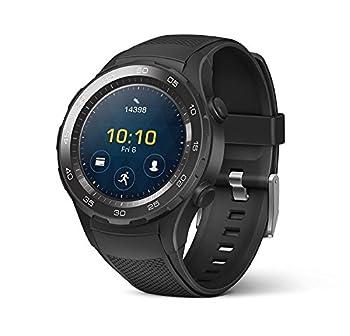 Huawei Watch 2 Sport Smartwatch - Ceramic Bezel - Carbon Black Strap  US Warranty