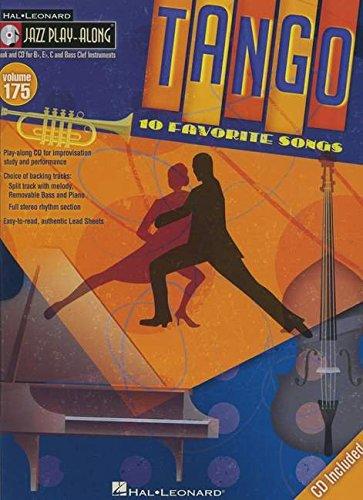 Jazz Play-Along Volume 175: Tango: Noten, CD für Instrument(e) in b