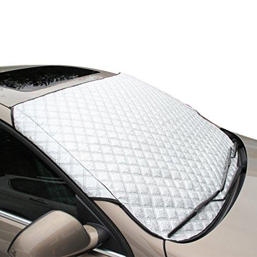 FREESOO Autoscheibenabdeckung Frontscheibenabdeckung Sonnenschutz Scheibenabdeckung Auto Windschutzscheibenabdeckung UV-Schutz Sonnen Abdeckung Groß