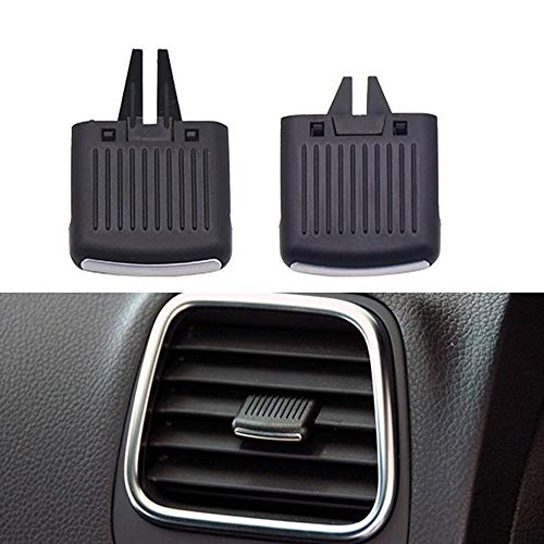 Car Air Outlet Vent Panel Grille Cover Car A/C Air Vent Grille Tab Clip Automobile Front Air Conditioner Outlet Repair Kit Compatible with VW Scirocco Sagitar Car Accessories Replacement