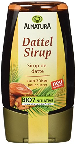 Alnatura Dattelsirup, 6er Pack (6 x 180 ml)