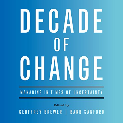 Decade of Change audiobook cover art