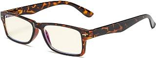 Eyekepper Lunettes de Vue/lunette ordinateur Protection UV Anti-eblouissement/rayons bleus Resistant anti-rayures (Tortue/...