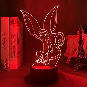 3D Night Light for Kids,Avatar Last Airbender Momo Lamp for Home Decor Led Avatar Bedroom Decor Light Momo for Birthday/Xmas Gift