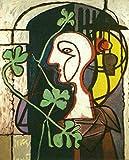 THTHTH Famoso Pintor español Picasso Poster Lienzo Abstracto Arte de la Pared Pinturas e Impresiones Vintage para la Sala de Estar Decoración del hogar Imagen 40x60cm x1 Sin Marco
