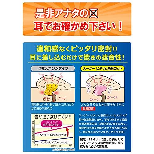 スージーイヤーグミ2ペア4個SU-ZIスージー日本製耳栓シリコン最強騒音防音いびきいびき対策安眠グッズ