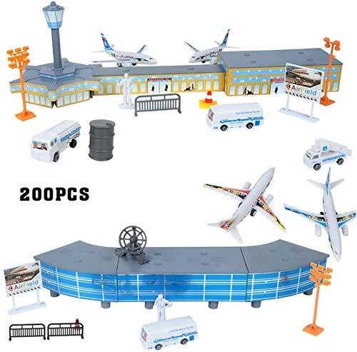 Fayeille Avión Modelo Set 200pcs Bricolaje Edificio Adblock
