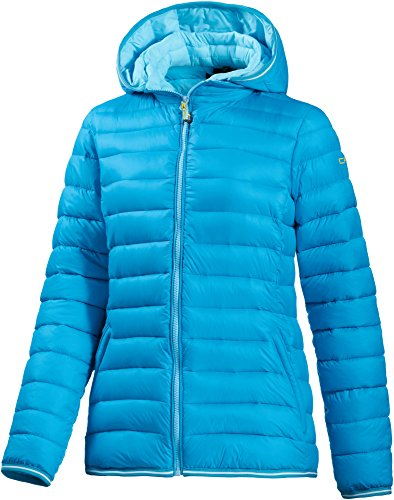CMP Optik giacca sportiva da donna, Donna, Giacca, Daunen Jacke, Sea Blue/Acquamarina, XXL