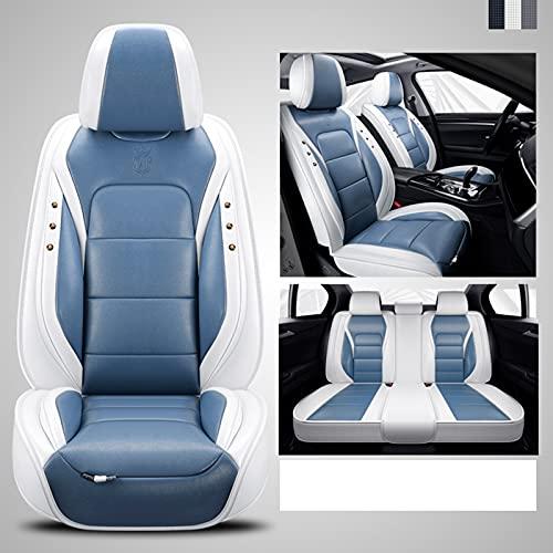 Ciroing Funda de Asiento para Nissan Pulsar Qashqai J10 J11 2011 2017 2018 Rogue Teana J31 J32 Terrano Accesorios Coche Seat,Azul Estándar