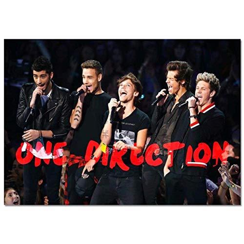 LDTSWES® Rompecabezas Rompecabezas, Madera One Direction British Band 1000 Piezas Rompecabezas, para Niños Adultos Beneficio Juegos de Sabiduría Manualer DIY Rompecabezas