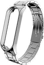 Correa para Xiaomi Mi Band 4, JORICH para Xiaomi Pulsera de Acero Inoxidable Tamaño Ajustable Repuesto Compatible con Mi Band 4 Extensibles Pulsera Reloj Wristband Repuesto