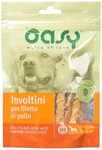 Oasy Snack - Involtini con Filetto di Pollo Busta Gr 100