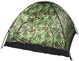 Tente de Camping AIBOOSTPRO, Tente de Camping en Plein Air Camouflage 3-4 Personnes, Protection UV Camouflage étanche Tente pour Extérieur, Trekking, Festival avec Sac de Transport Portable