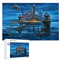 マジックキャッスル 500ピースのパズル木製パズル大人の贈り物子供の誕生日プレゼント1000ピースのパズル