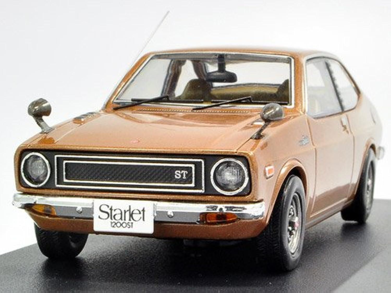 IXO 1 43 TOYOTA Starlet 1200 ST 1973 braun Metallic (japan import) B0060Z67RO Überlegene Qualität   Sehr gute Qualität