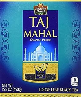 Taj Mahal Orange Pekoe Loose Leaf Black Tea 2-Pack (2 x 450 grams)