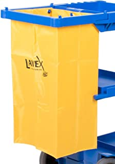 Lavex Replacement Vinyl Bag for Janitor Cart   Cleaning Cart Bag   25 Gallon