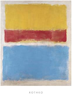 Studio B Prints Untitled (Yellow, Red and Blue) by Mark Rothko 20.75