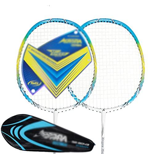 SHUTING2020 Tipo de Raqueta de bádminton de Carbono Completo Usado Principiante Aficionado Aficionado Aficionado de Bola de Aptitud de Adultos Raqueta de Entrenamiento